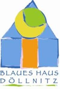 blaues blaues blaues highneck volantkleid vektor